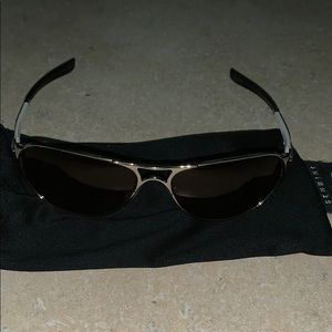 Oakley sunglasses with soft case.